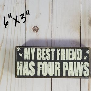 Dog Best Friend Decor